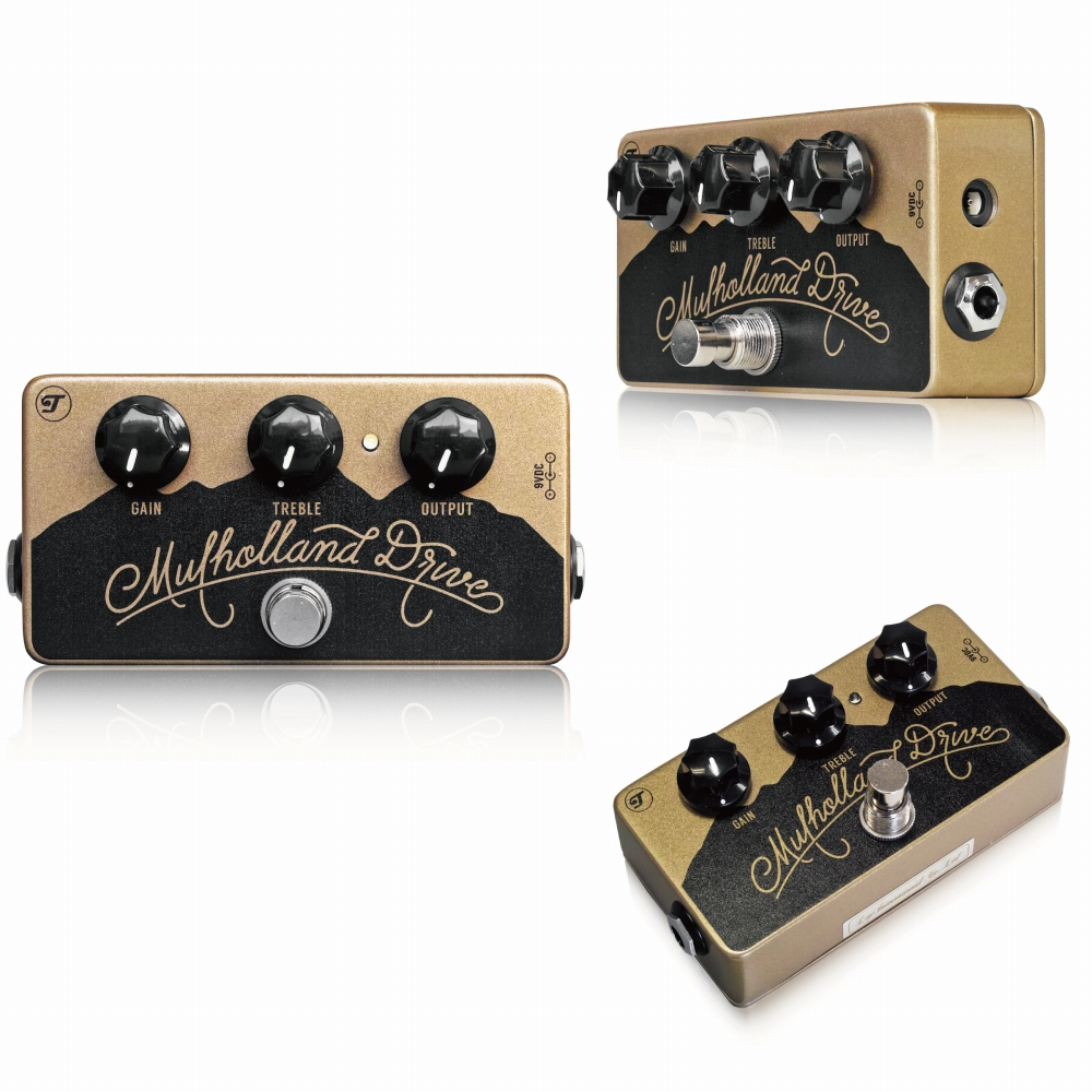 Teletronix Effects Mulholland Drive MkIII(Mountain) オーバードライブ