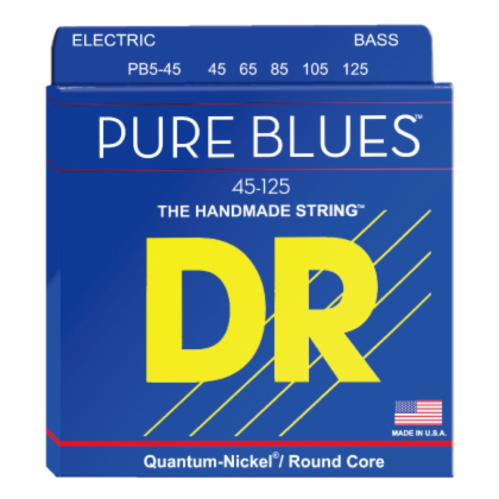 DR PURE BLUES PB5-45 5 STRING MEDIUM 5弦エレキベース弦
