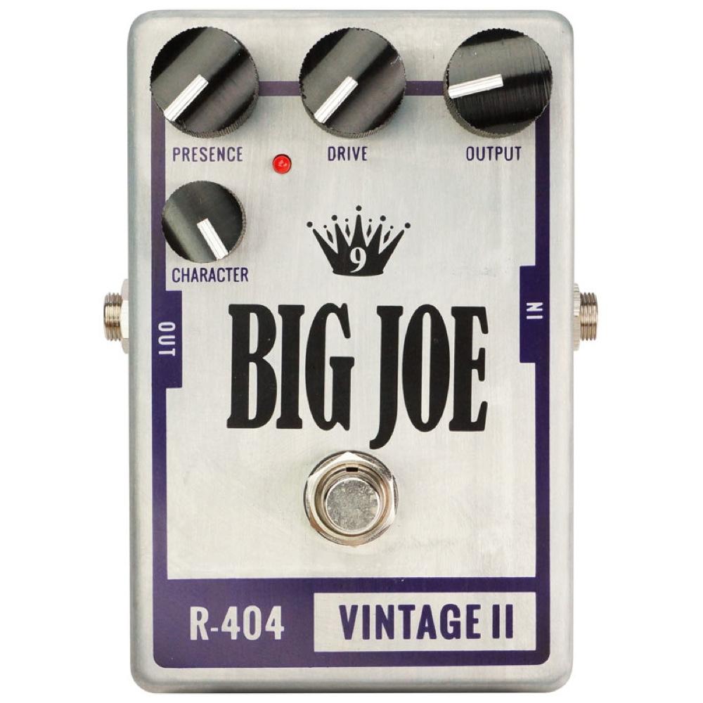 BIG JOE R-404 Vintage II オーバードライブ エフェクター