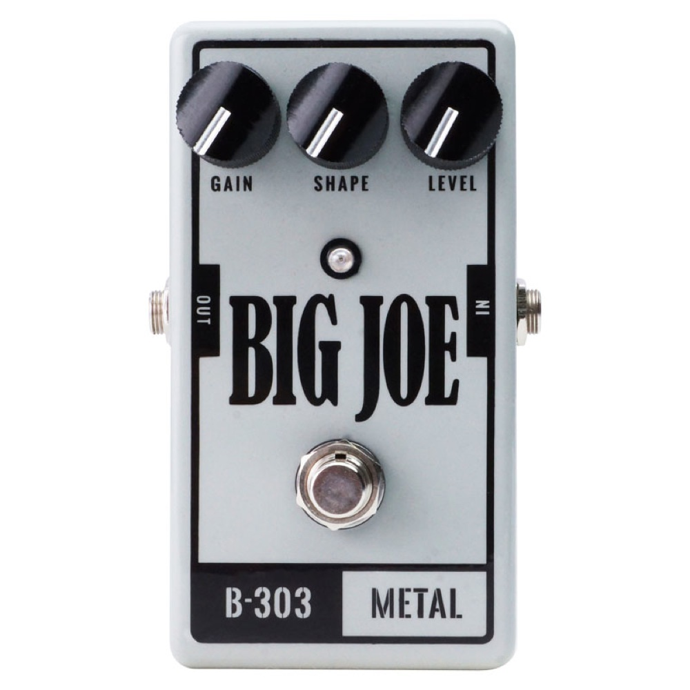 BIG JOE B-303 Metal ディストーション エフェクター