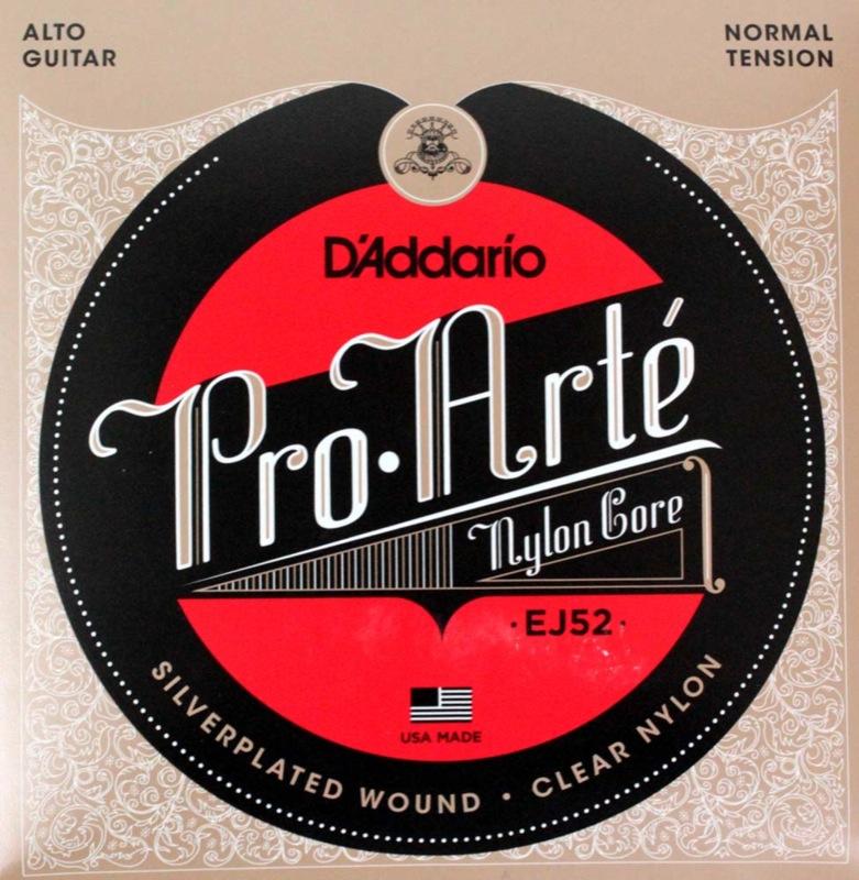 D'Addario EJ52/Alto Guitar×10セット