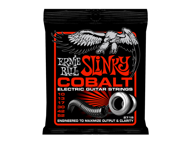 ERNIE BALL 2715 Cobalt Skinny Top Heavy Bottom Slinky×12SET エレキギター弦