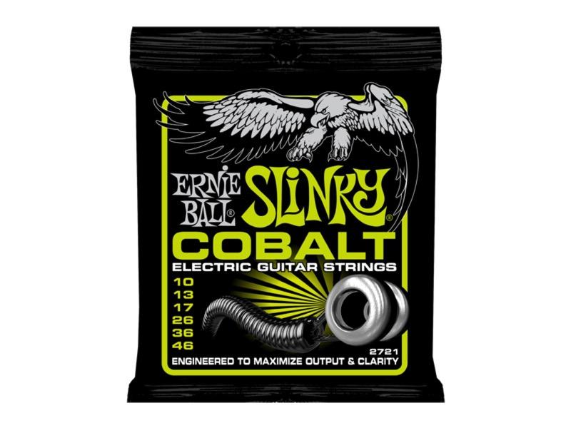 ERNIE BALL 2721 Cobalt Regular Slinky×12SET エレキギター弦