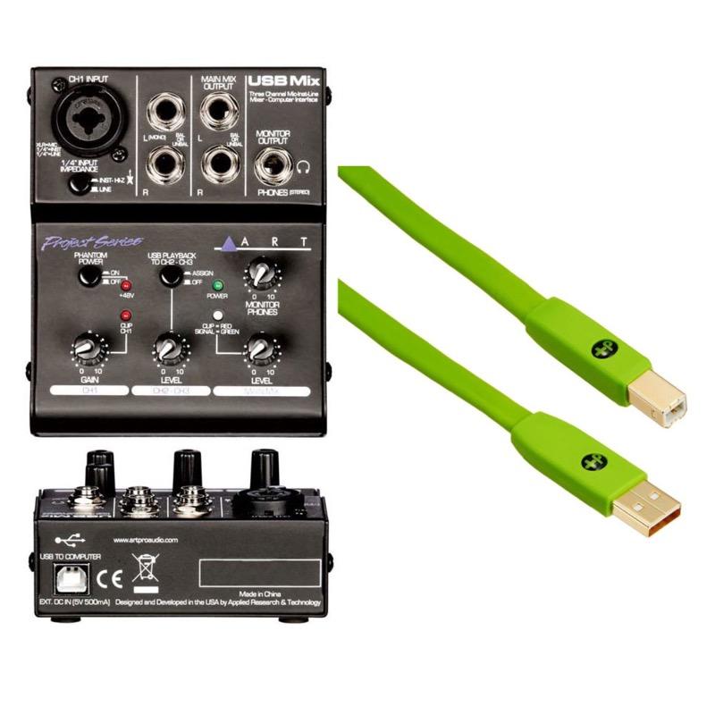 【2018年製 新品】 ART USB ART Mix Project Series Series USB オヤイデUSBケーブル付き 3CHミキサー型オーディオインターフェイス, トレンドビューティーヘルス:e7584ad4 --- canoncity.azurewebsites.net