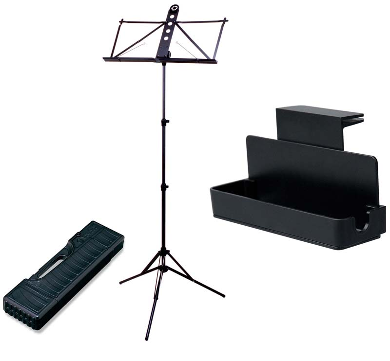 YAMAHA MS-303ALC&MS-RKDX 譜面台&譜面台ラックセット