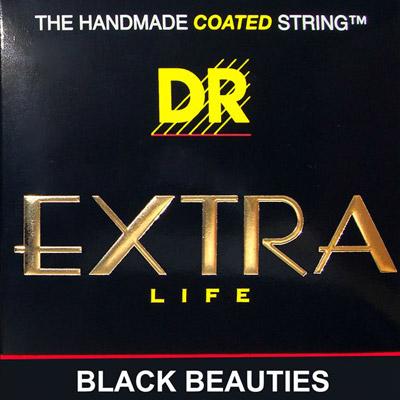 DR BLACK BEAUTIES DR-BKE10 Medium エレキギター弦×6セット