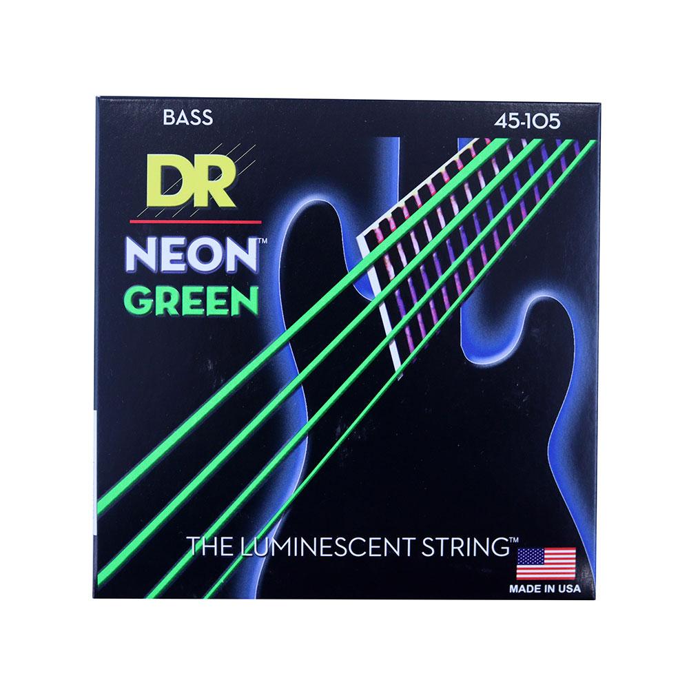 DR NEON GREEN DR-NGB45 Medium エレキベース弦×2セット
