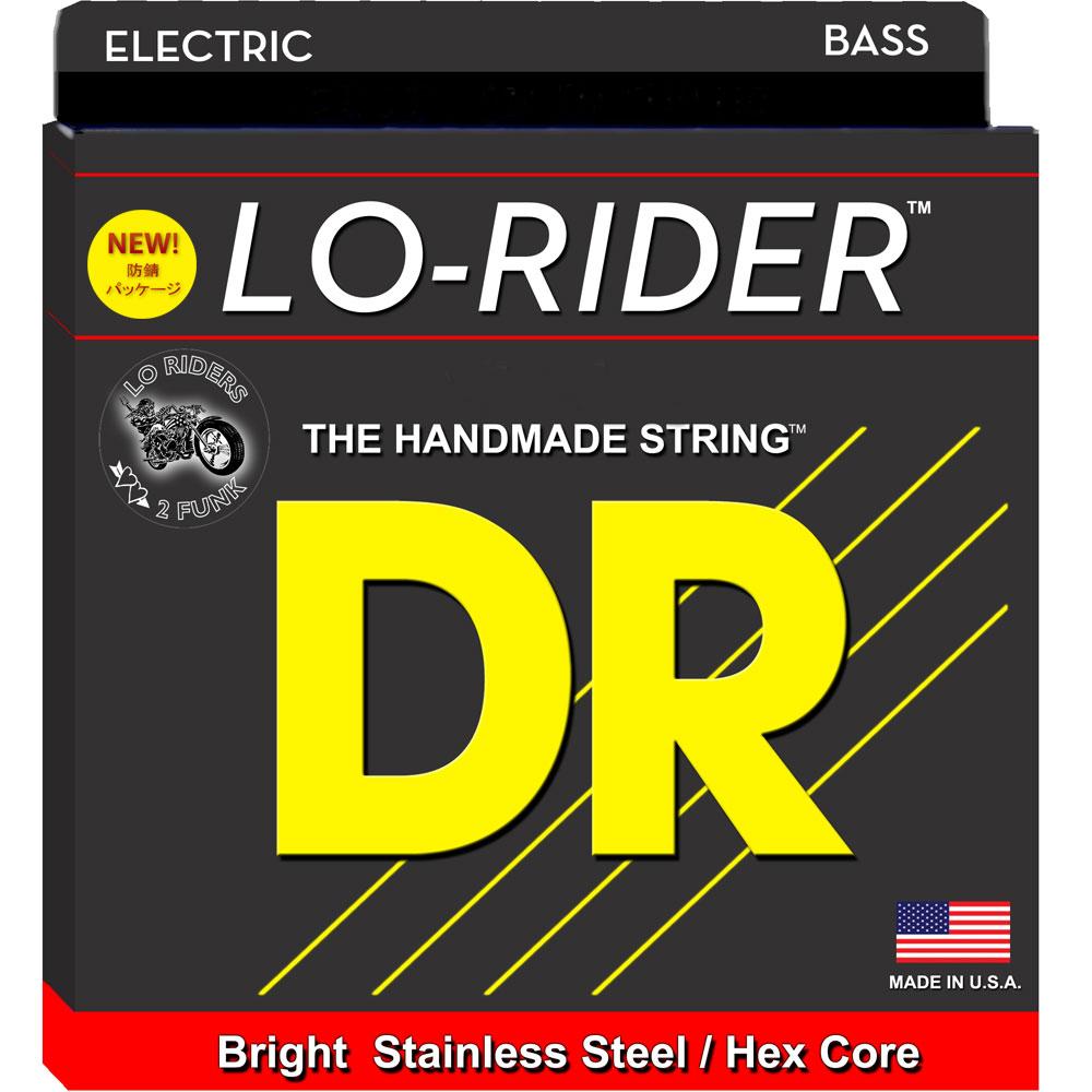DR LO-RIDER MH5-45 Medium 5 String エレキベース弦×2セット