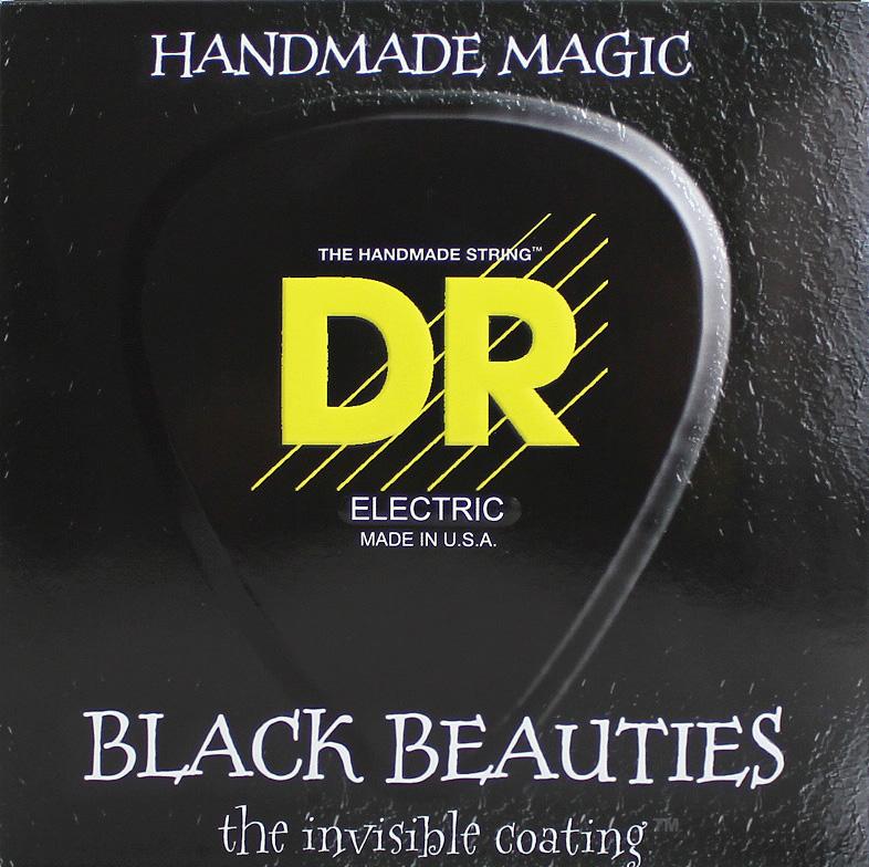 DR EXTRA-Life BLACK BEAUTIES DR-BKB45 Medium エレキベース弦×2セット