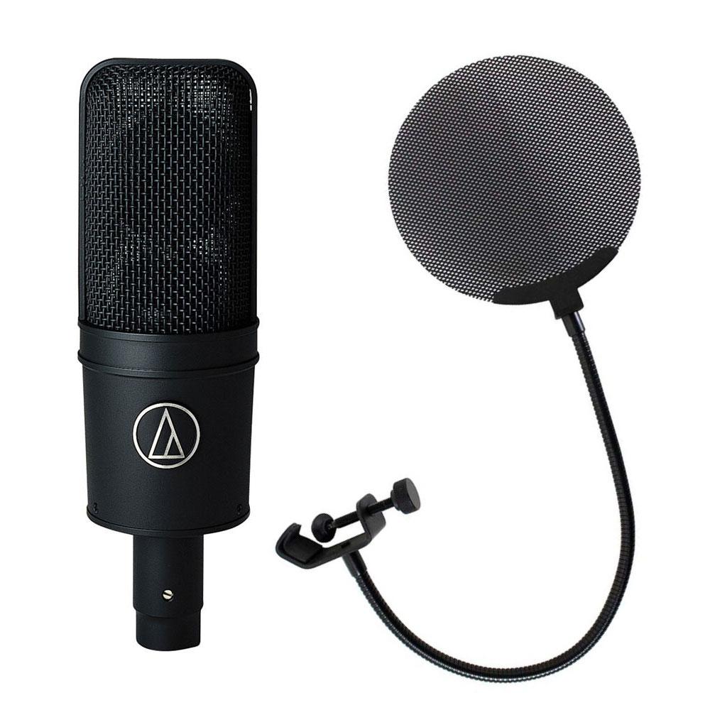 AUDIO-TECHNICA AT4033a メタルポップフィルター付き コンデンサーマイク