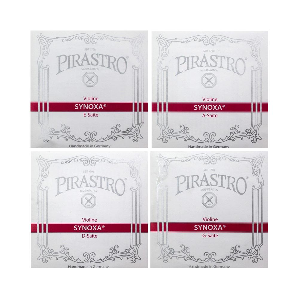 PIRASTRO Synoxa 3/4サイズ用バイオリン弦セット E線ボールエンド