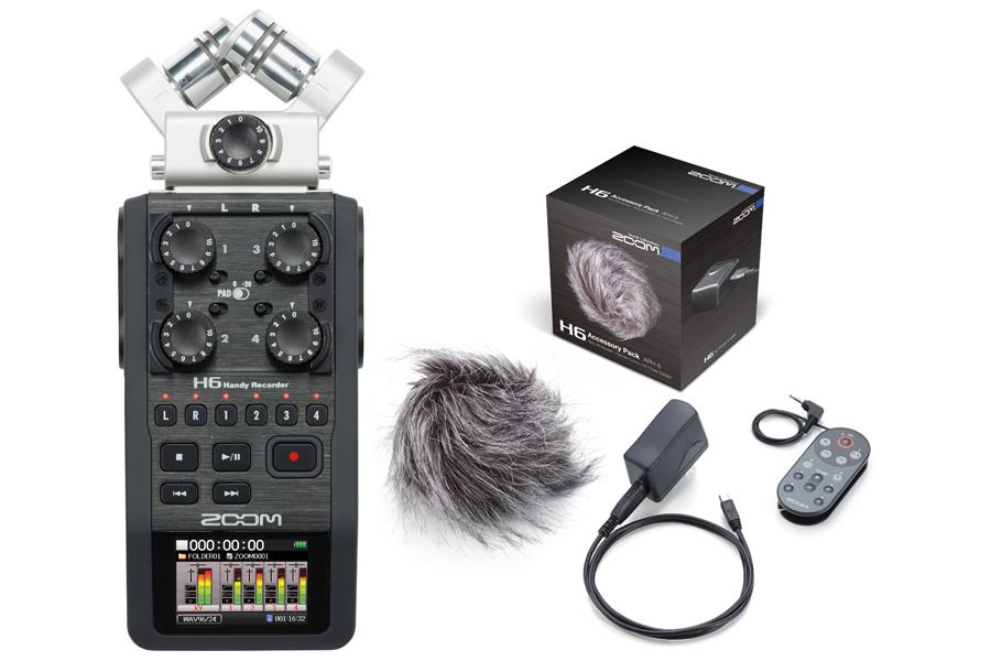 ZOOM H6 Handy Recorder ハンディーレコーダー アクセサリーパッケージセット