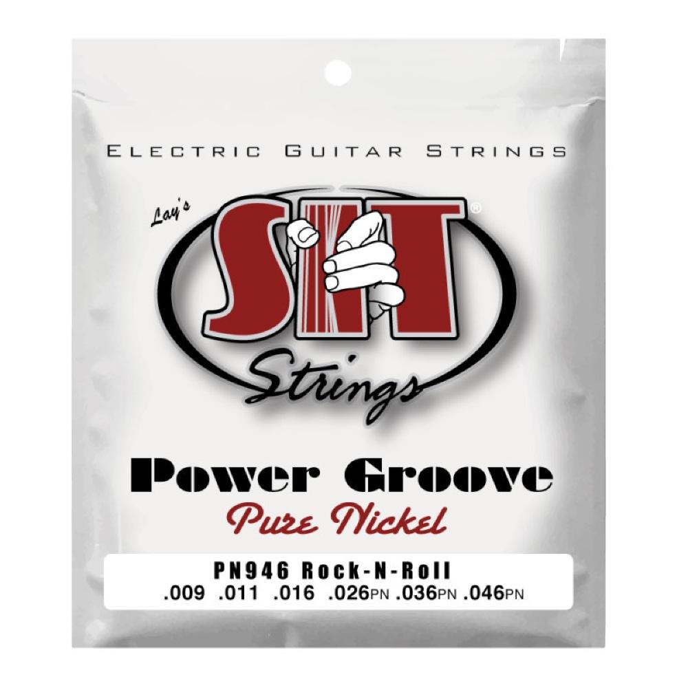 SIT STRINGS PN946 ROCK-N-ROLL POWER GROOVE エレキギター弦×6セット