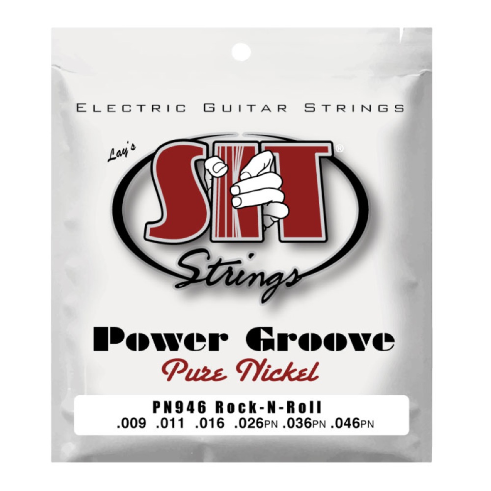 SIT STRINGS PN946 ROCK-N-ROLL POWER GROOVE エレキギター弦×12セット
