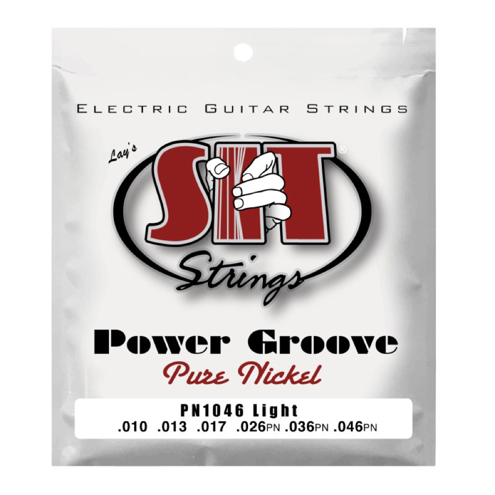 SIT STRINGS PN1046 LIGHT POWER GROOVE エレキギター弦×12セット