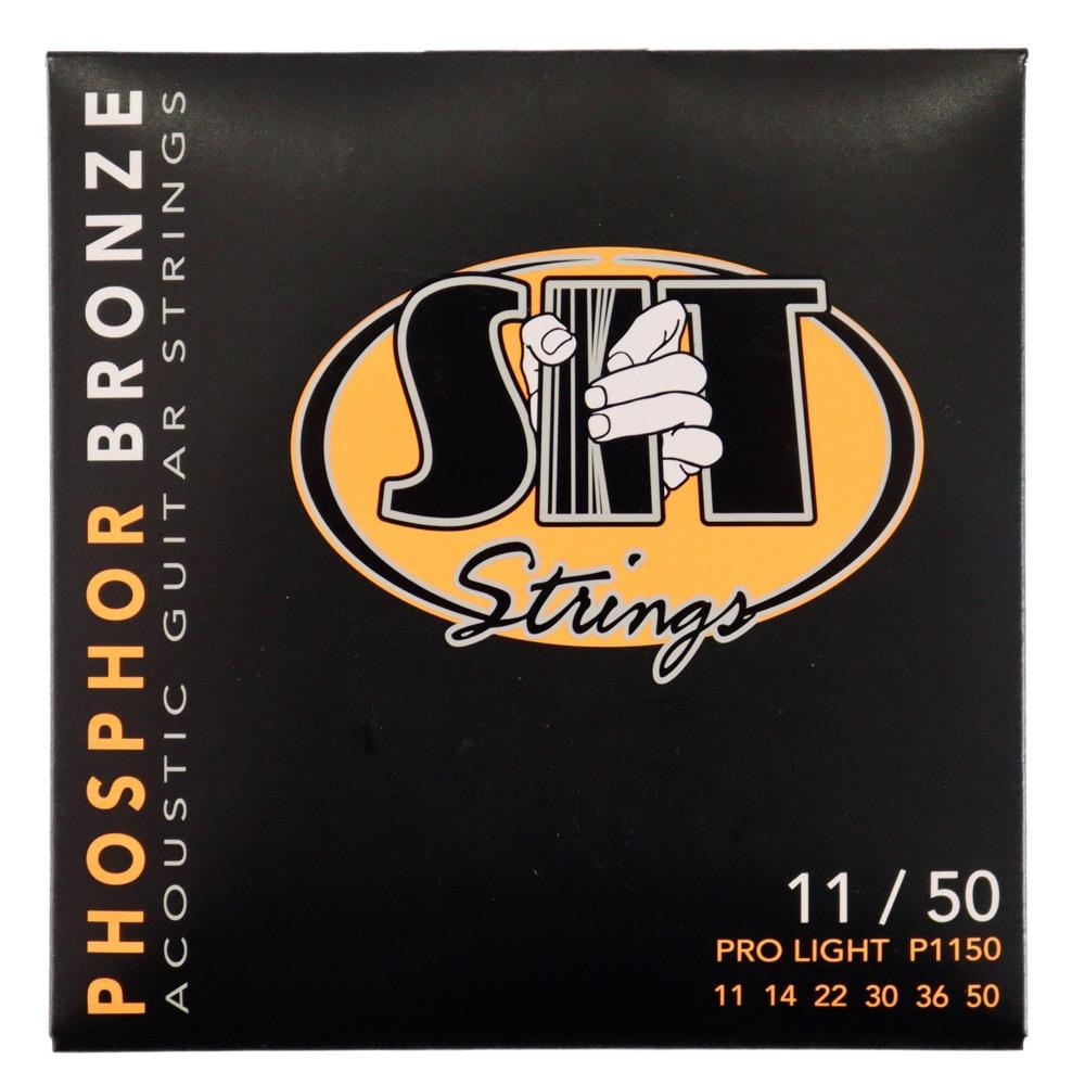 SIT STRINGS P1150 PRO LIGHT PHOSPHOR BRONZE アコースティックギター弦×12セット