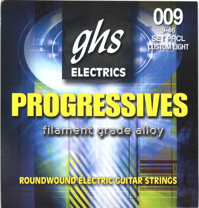 GHS PRCL 09-46 Progressives Series×12SET エレキギター弦