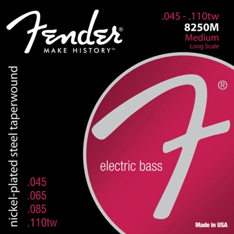 FENDER Bass Strings Super 8250M×2SET エレキベース弦