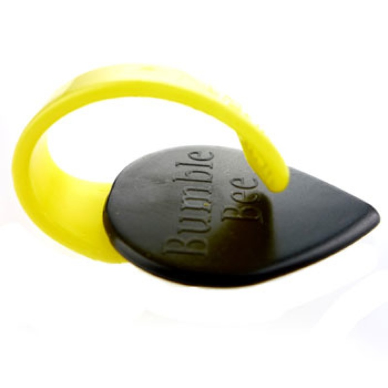 Fred Kelly Delrin Bumblebee Jazz Pick Light バンブルビー ピック×12枚セット