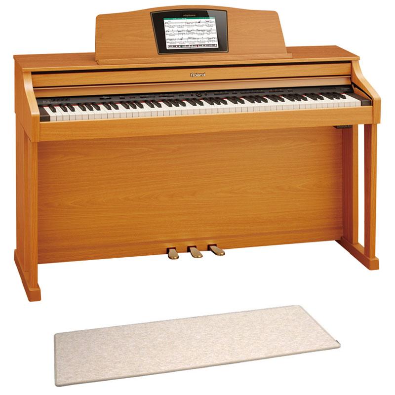 ROLAND HPi-50e LWS 電子ピアノ 高低自在イス&ピアノセッティングマット付き セット【組立設置無料サービス中】