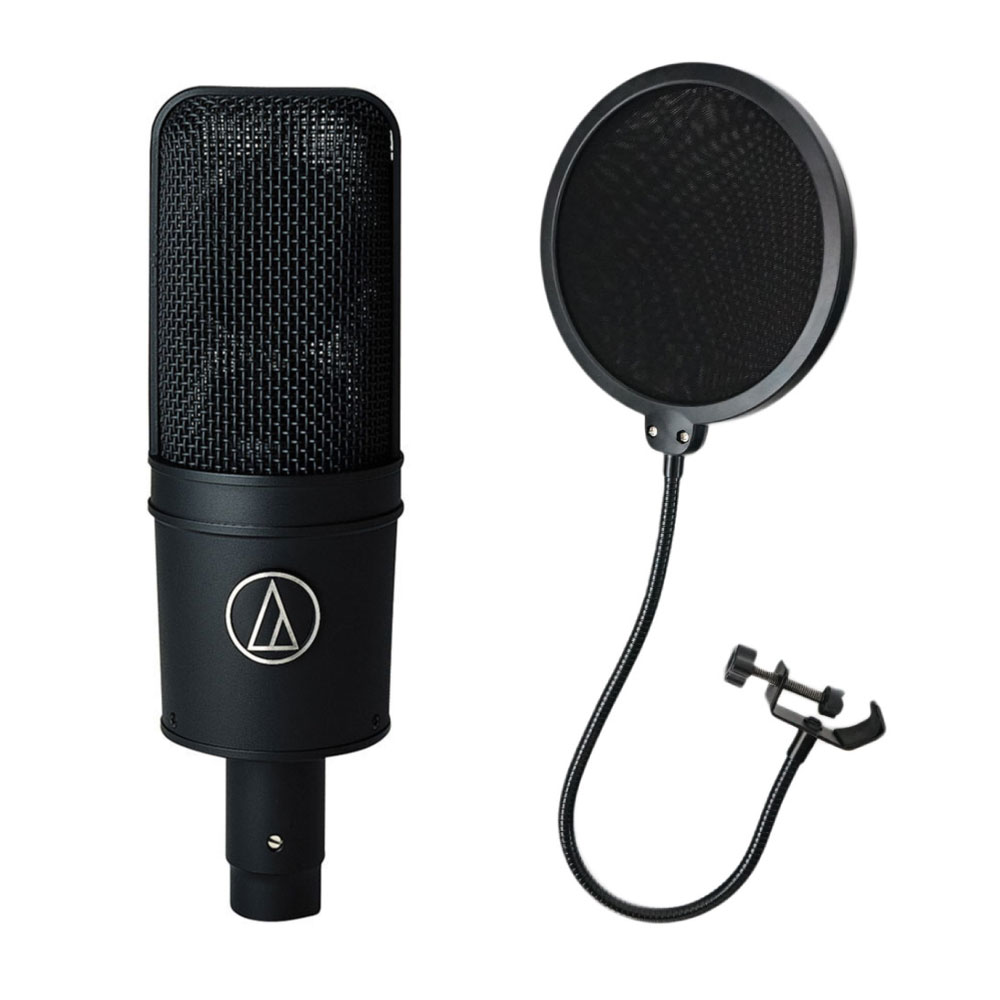 AUDIO-TECHNICA AUDIO-TECHNICA AT4033a AT4033a ポップフィルター付き コンデンサーマイク, トクリサ:b56451ad --- ww.thecollagist.com