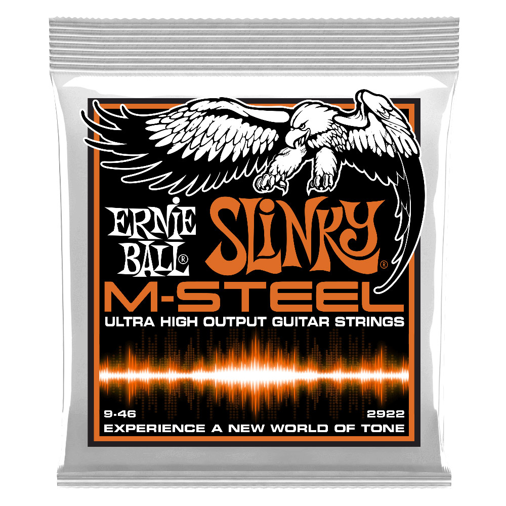 ERNIE BALL 2922 M-Steel Hybrid Slinky エレキギター弦×12セット