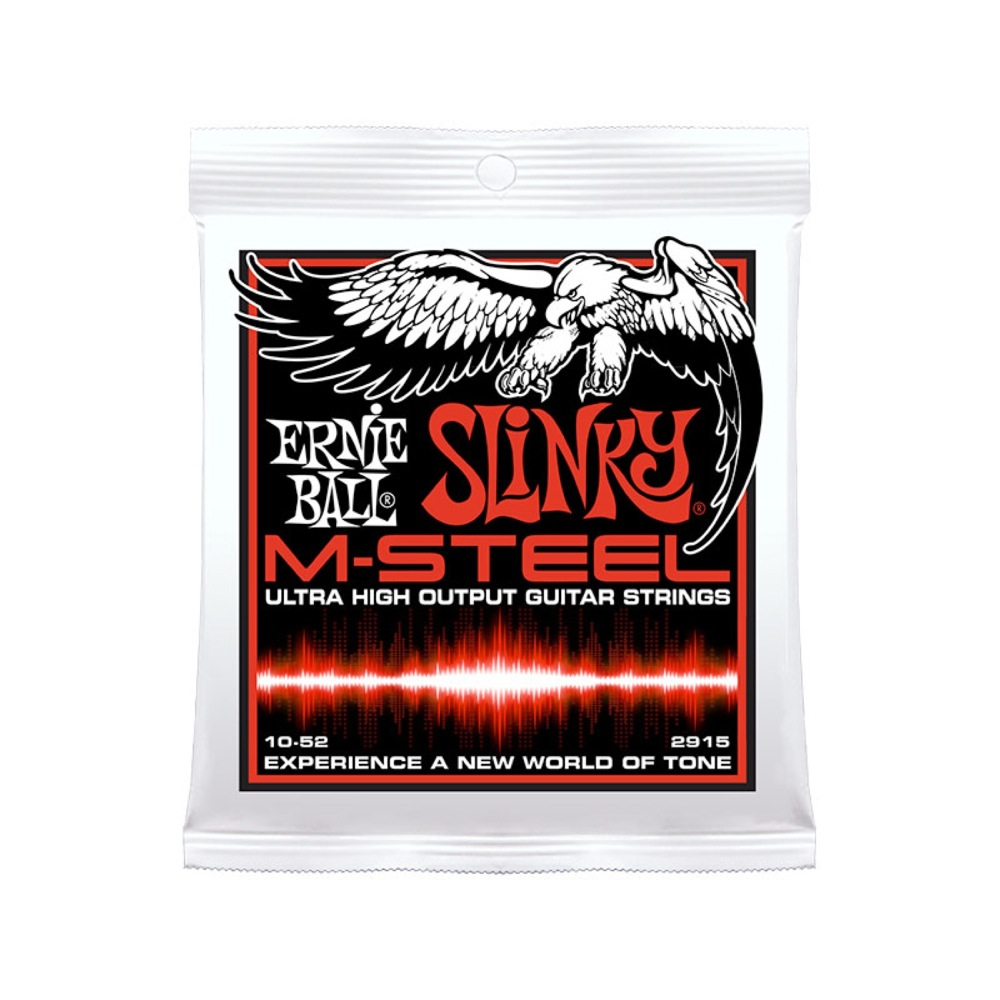 ERNIE BALL 2915 M-Steel Skinny Top Heavy Bottom エレキギター弦×12セット