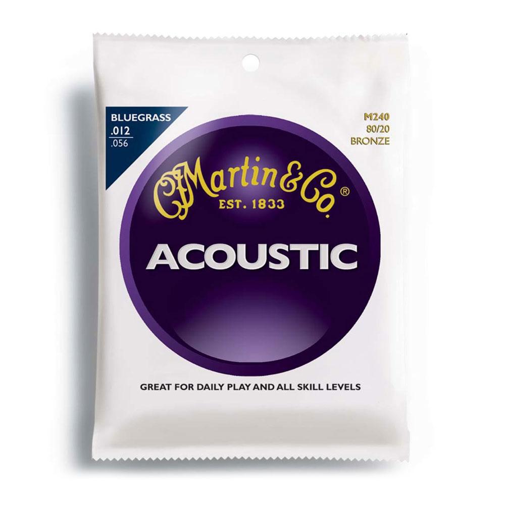 MARTIN M240 Bluegrass 12-56 アコースティックギター弦×10SET