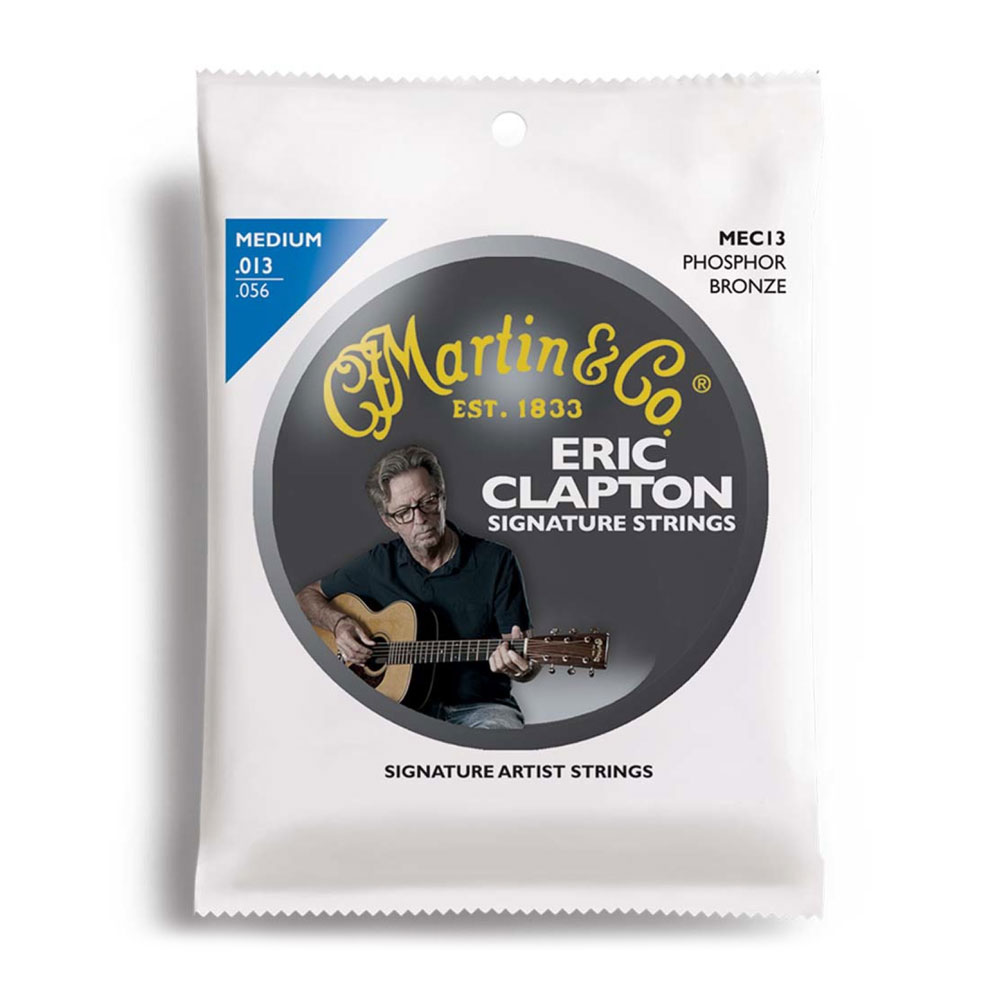 MARTIN MEC13 Medium Clapton's Choice アコースティックギター弦×10セット