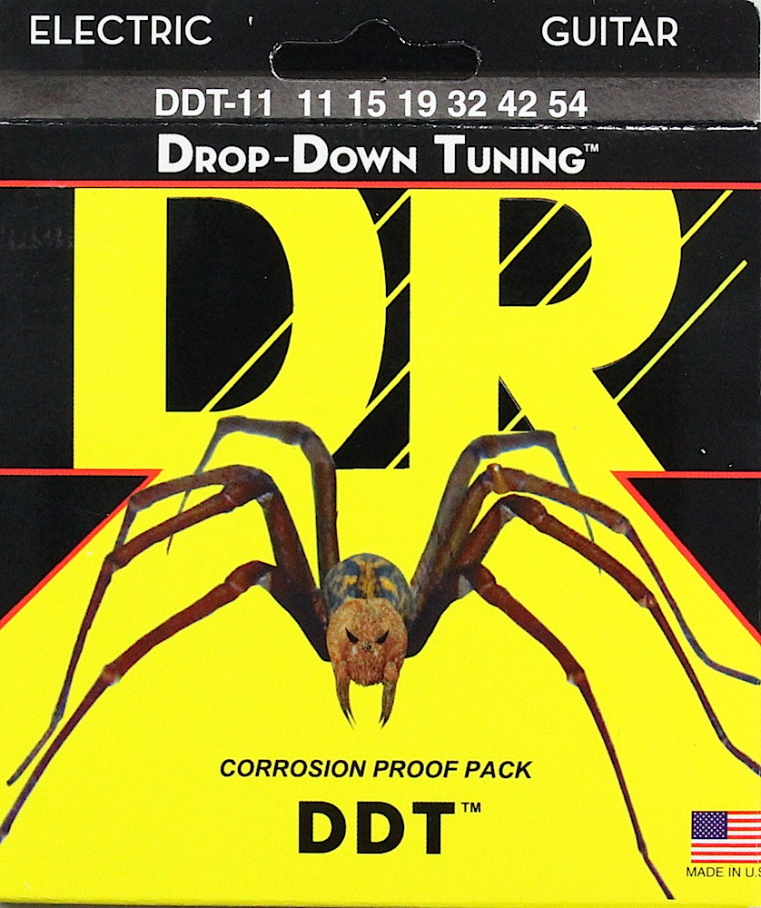 DR DDT DDT-11/54 Drop-Down Tuning Extra Heavy エレキギター弦×12セット
