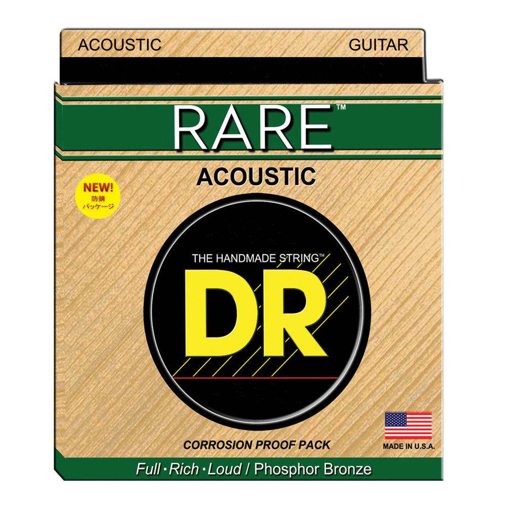 DR RARE RPL-10 Lite アコースティックギター弦×12セット