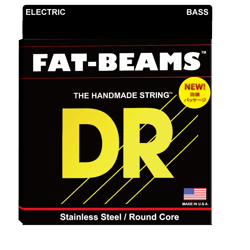 DR FAT-BEAMS FB5-45 Medium 5 String エレキベース弦×2SET