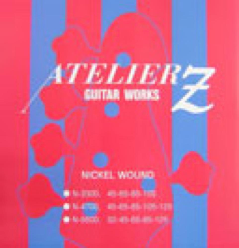 ATELIER Z N-4700 NICKEL WOUND BASS STRINGS 5弦エレキベース弦×3セット