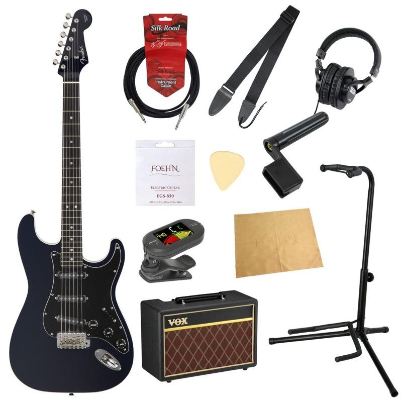 フェンダーから始める!大人の入門セット Fender Japan Exclusive Aerodyne Strat GMB エレキギター VOXアンプ付 11点セット