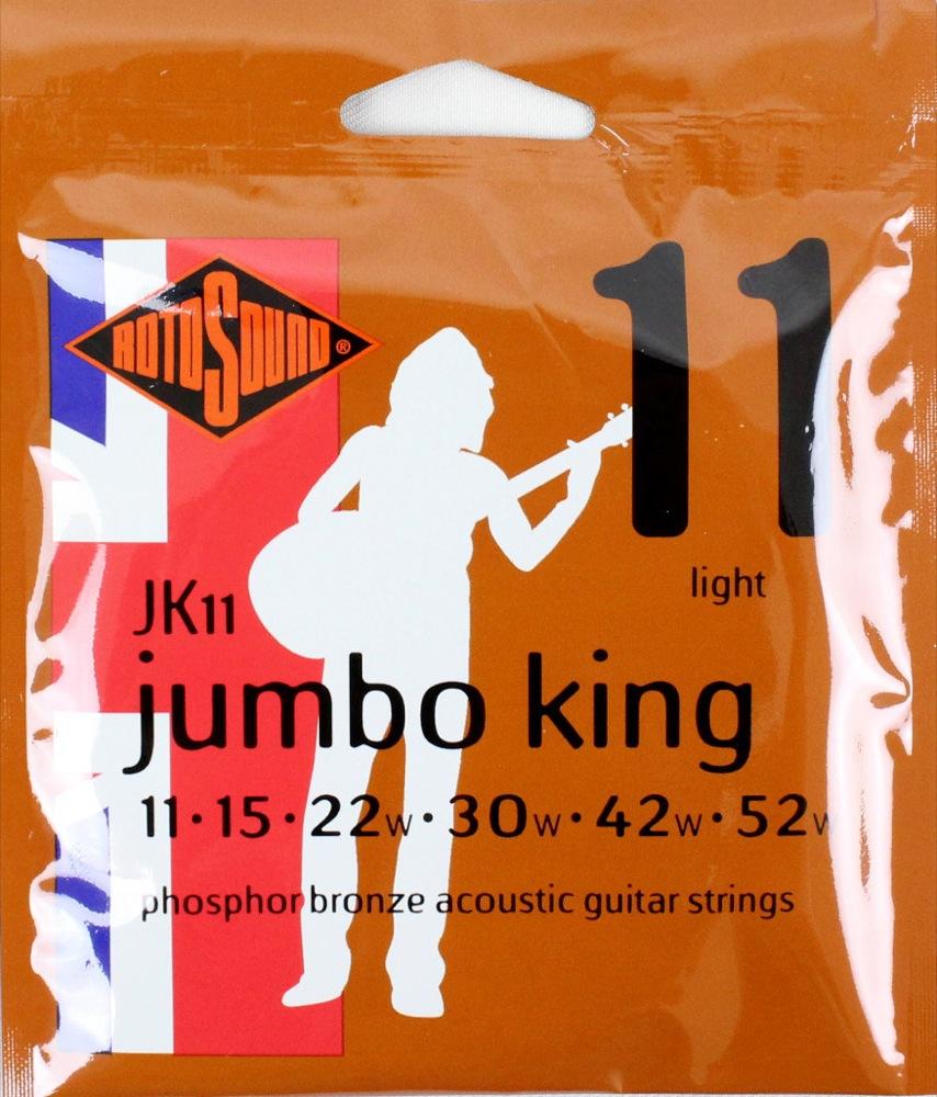 ROTOSOUND ROT-JK11 アコースティックギター弦×12SET