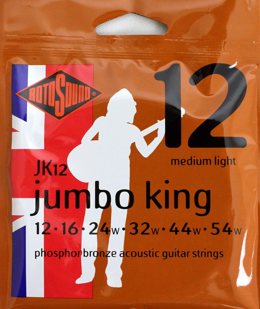 ROTOSOUND ROT-JK12 アコースティックギター弦×12SET