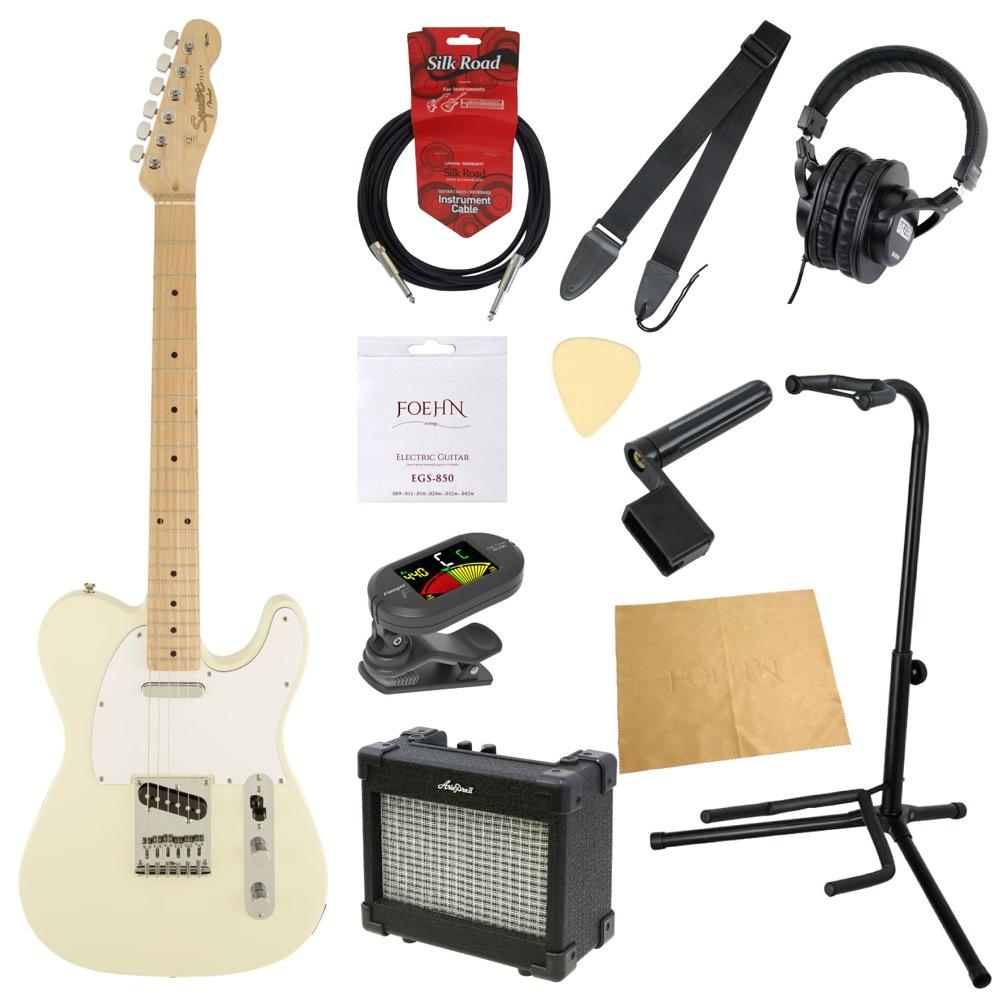エレキギター入門11点セット Squier Affinity Series Telecaster AWT