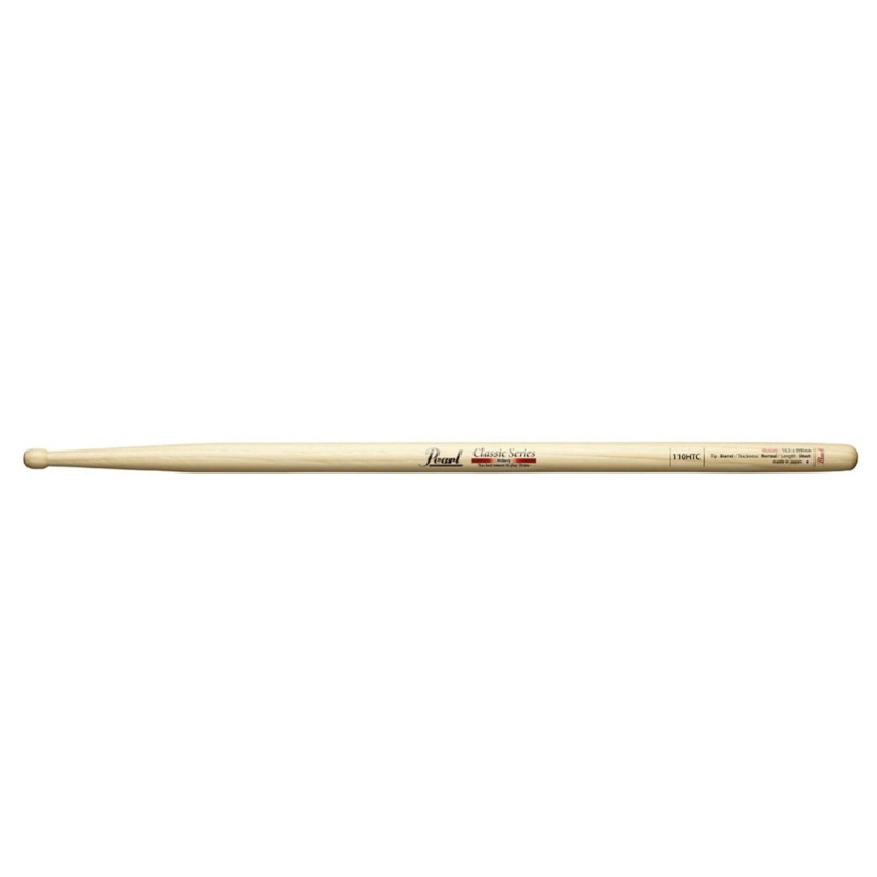 Pearl 110HTC ヒッコリー ドラムスティック×12セット