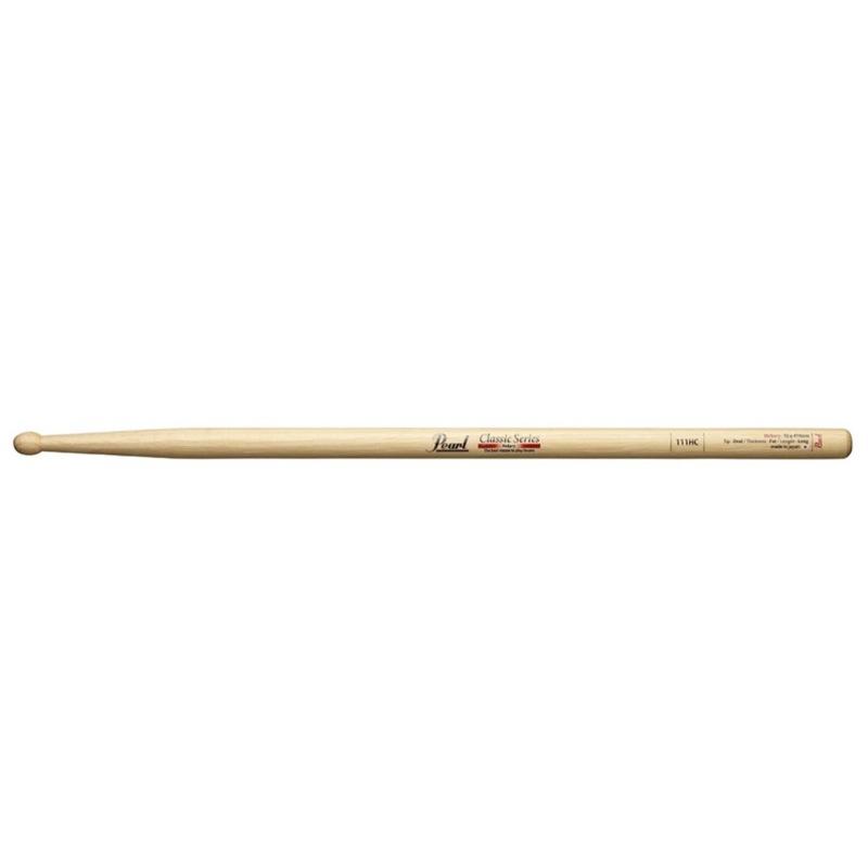 Pearl 111HC ヒッコリー ドラムスティック×12セット