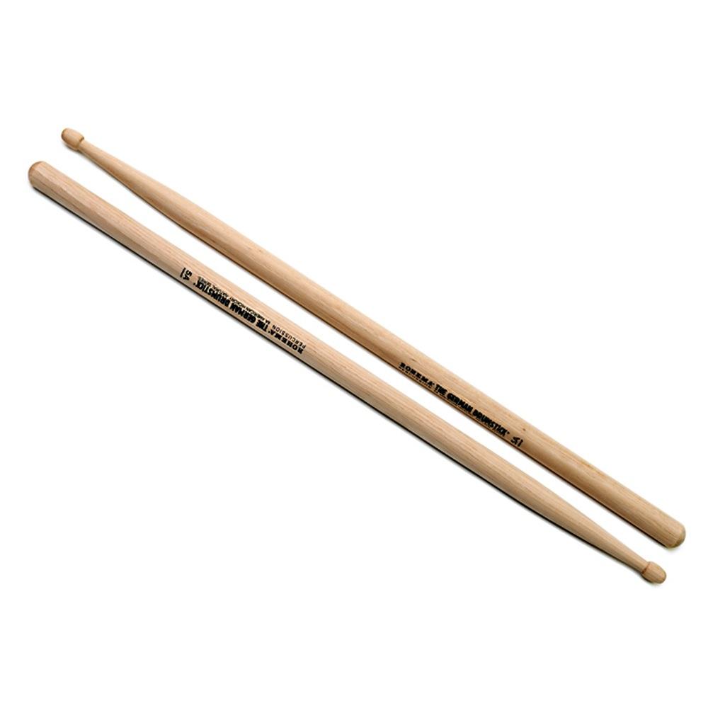 ROHEMA 61323/2U 5A Natural シリーズ ドラムスティック ×10SET