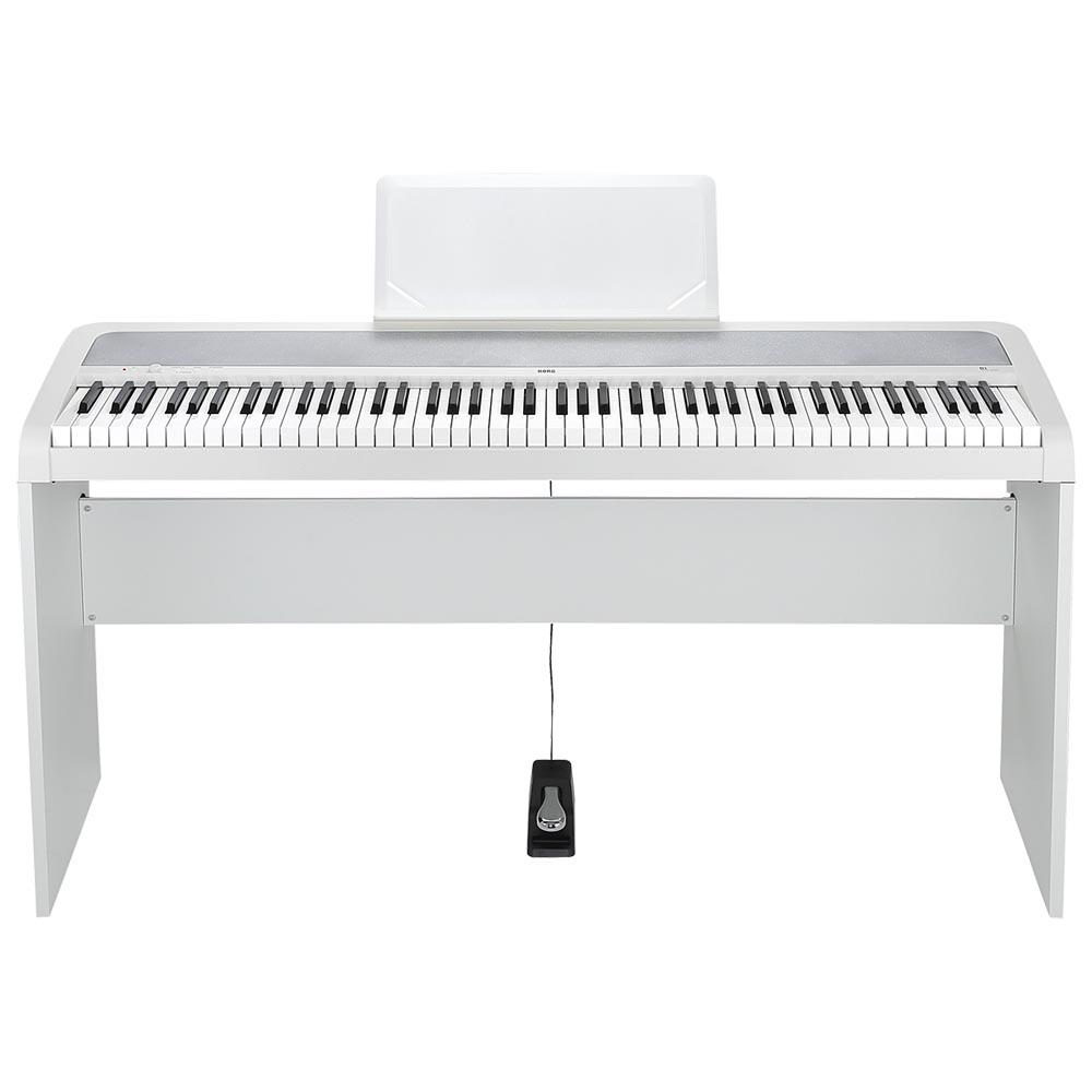 KORG B1 WH 電子ピアノ 純正スタンドセット