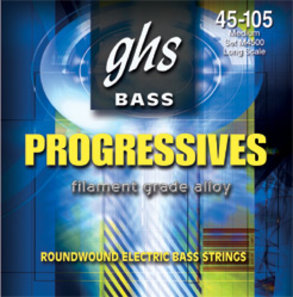 GHS M8000 45-105 Progressives Series エレキベース弦×2SET