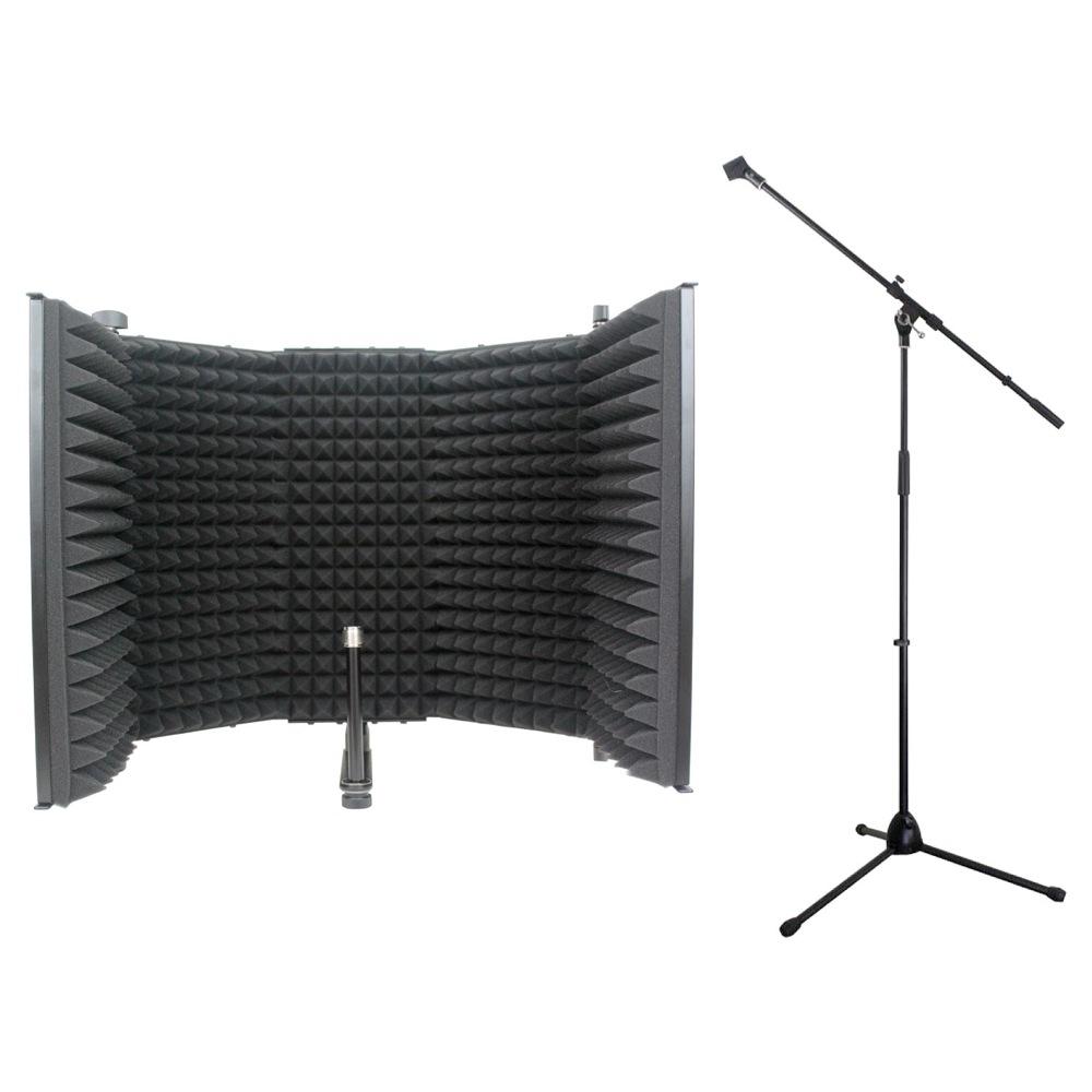 iSK RF-1 リフレクションフィルター Dicon Audio MS-003 マイクスタンド 2点セット