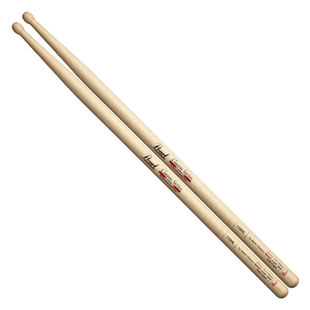 Pearl 110HC ヒッコリー ドラムスティック×12セット