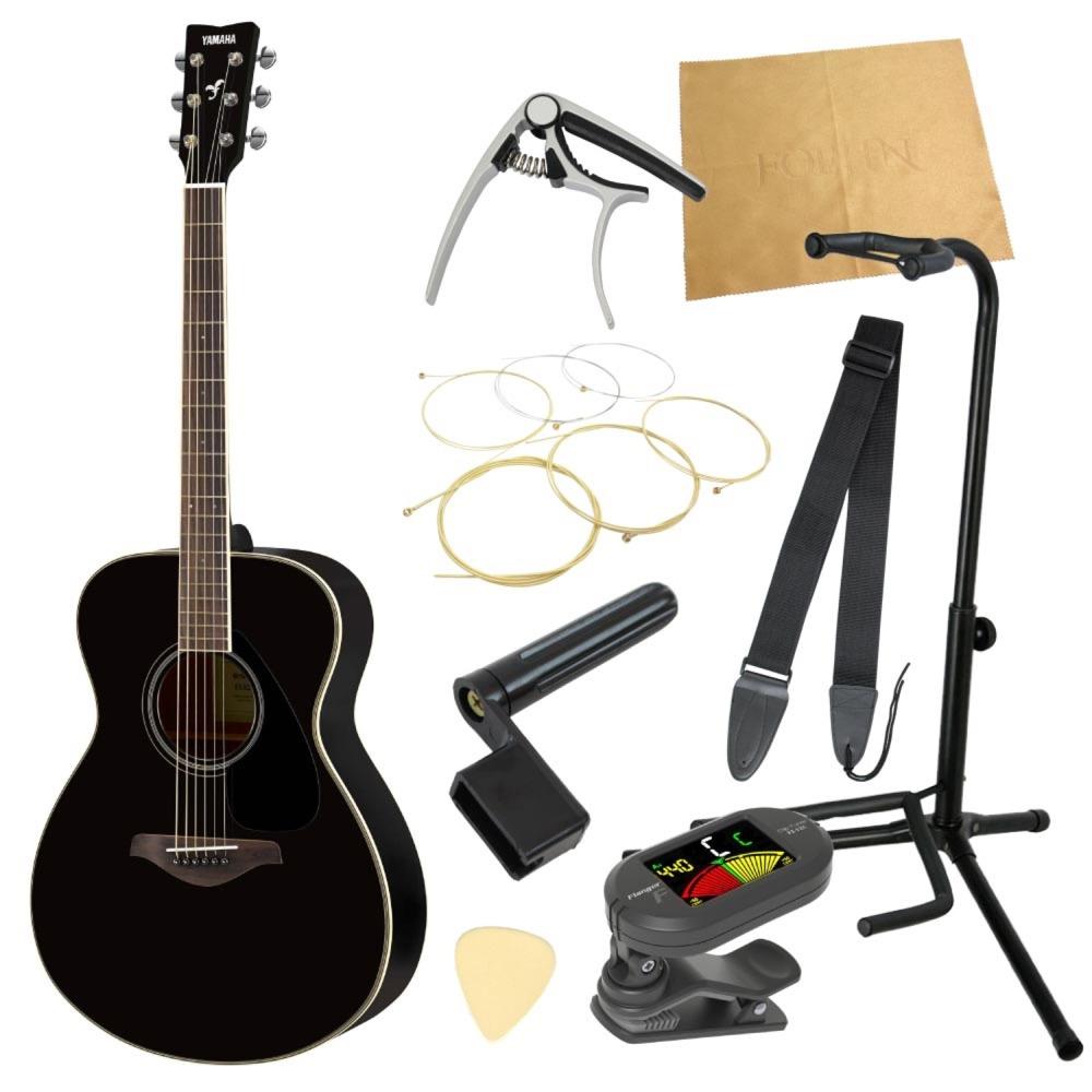 ヤマハから始める!大人のアコギ入門セット YAMAHA FS820 BL アコースティックギター 9点セット