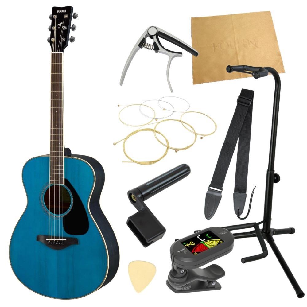 ヤマハから始める!大人のアコギ入門セット YAMAHA FS820 TQ アコースティックギター 9点セット