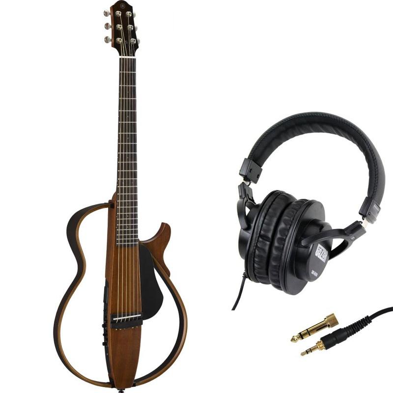 YAMAHA SLG200S NT サイレントギター SDG-H5000 モニターヘッドホン付きセット