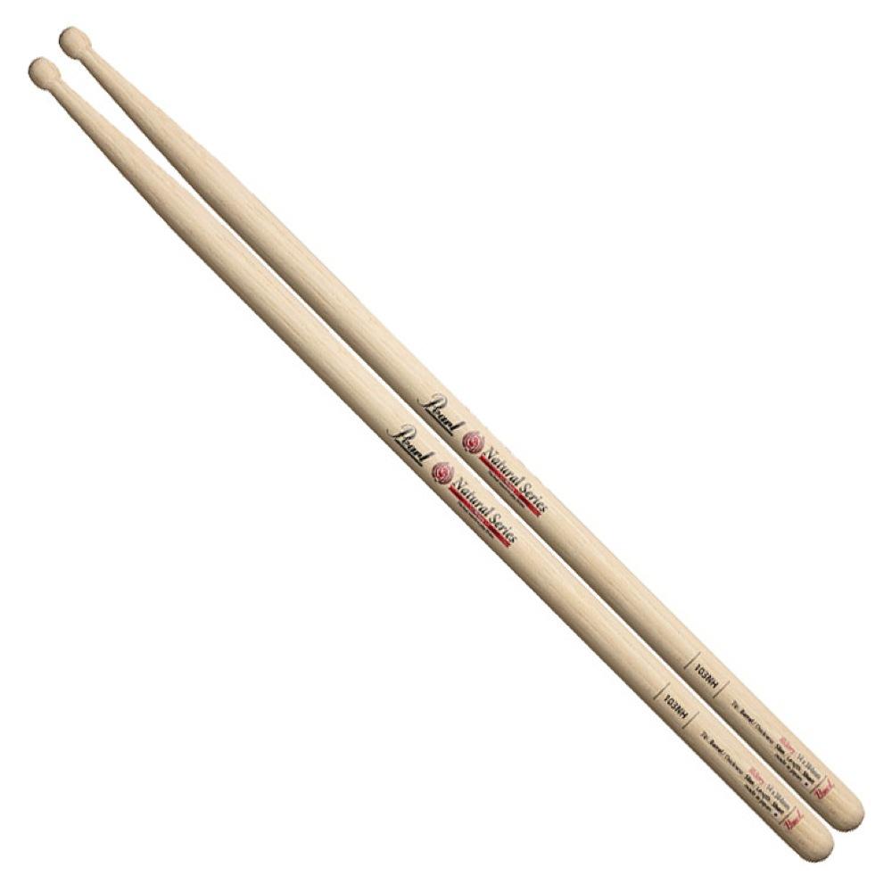 Pearl 103NH ヒッコリー ドラムスティック×12セット