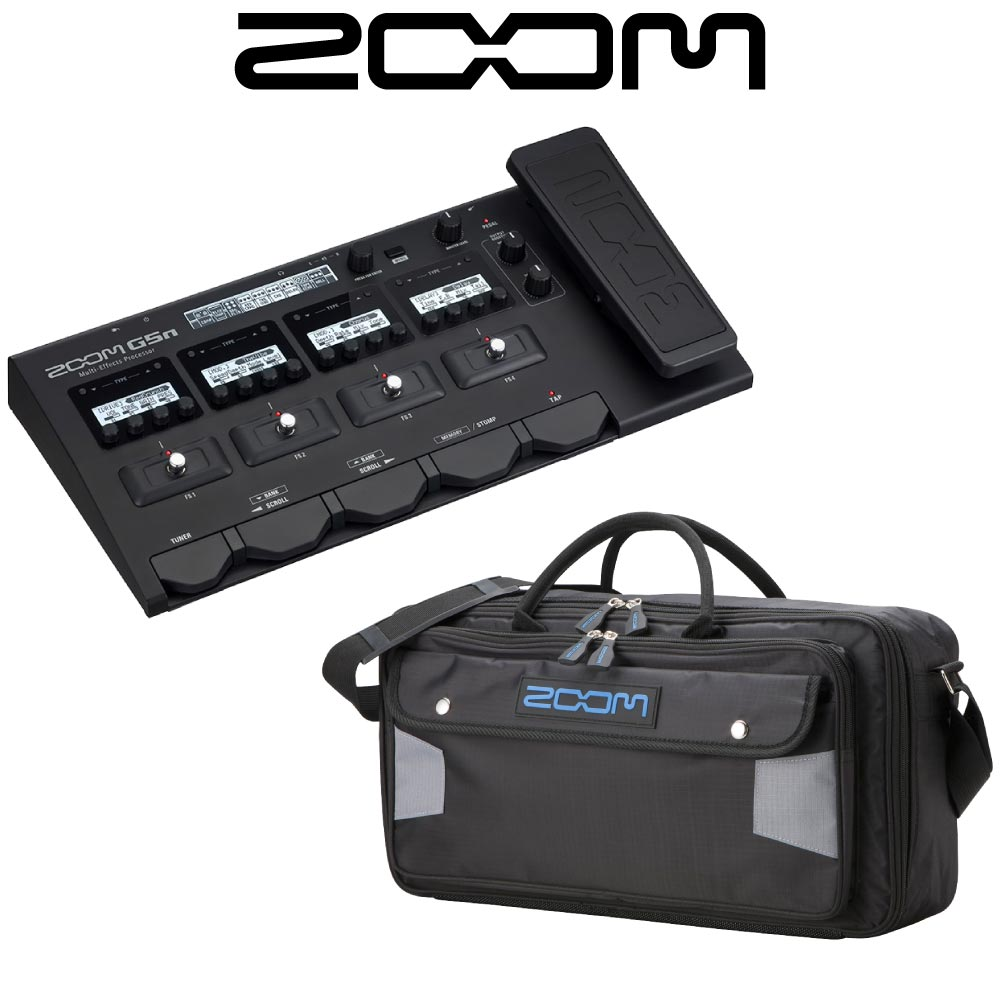 ZOOM G5n Ver.2.0 専用ソフトケース付き ギターマルチエフェクター