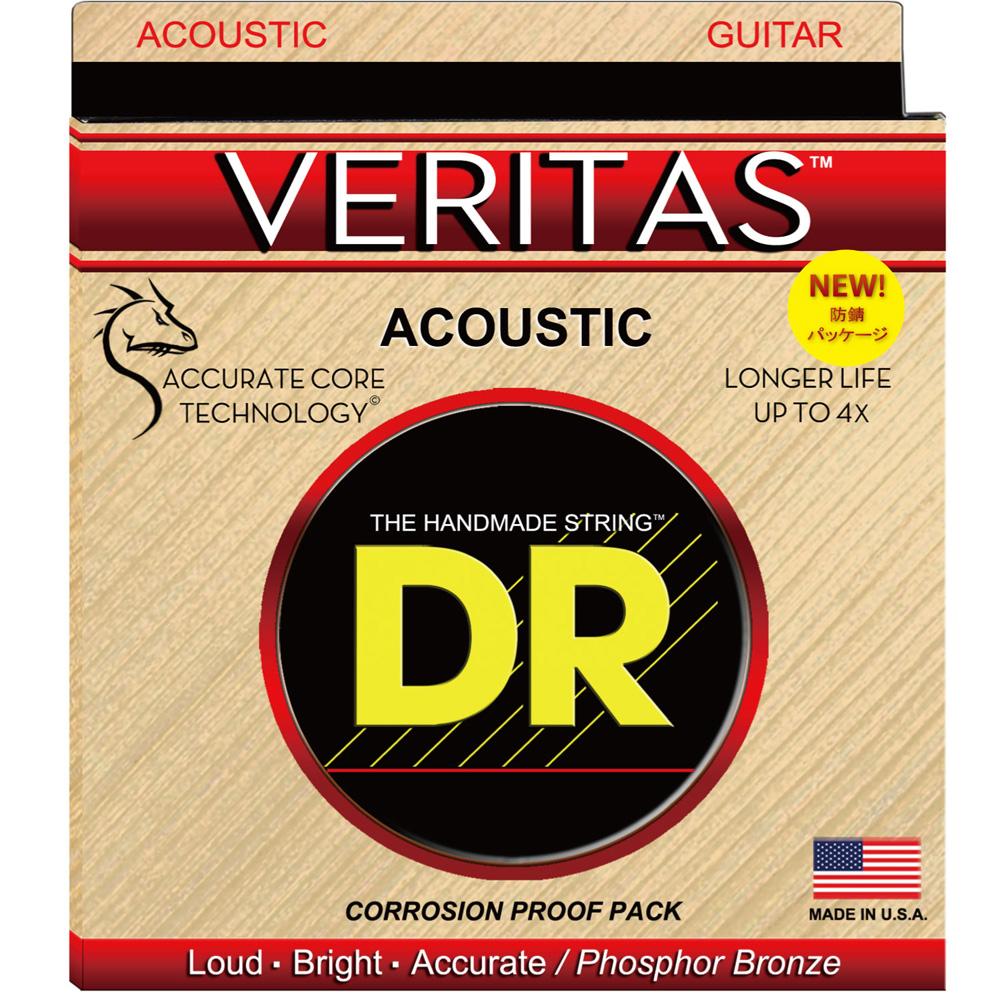 DR VERITAS VTA-11 CUSTOM LITE アコースティックギター弦×12セット